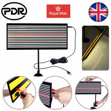 PDR Tools Paintless Dent Repair Auto Body LED Line Board Hail Doctor Removal Kit