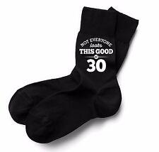 30th Birthday Gift Present Idea Boy Dad Him 1987 Men 30 Black Sock Accessories