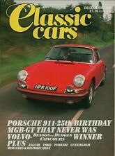 Classic Cars Early Porsche 911 MGB-GT Ford Escort Twin Cam Mercedes   B10.534
