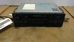 Audio Equipment Radio Receiver Am-fm-cassette Fits 98-01 ISUZU TROOPER 367886