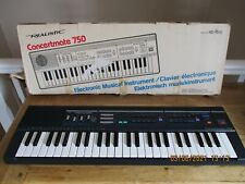Realistic Concertmate 750 ( Casio MT-140 ) Electronic Keyboard