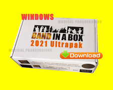 BAND IN A BOX 2021 ULTRAPAK - DIGITAL WIN AUDIO MUSIC SOFTWARE - NEW FULL RETAIL