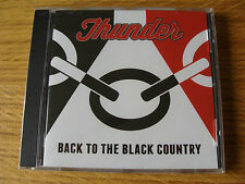 CD Album: Thunder : Back  To The Black Country Live Wolverhampton 2013  : Sealed