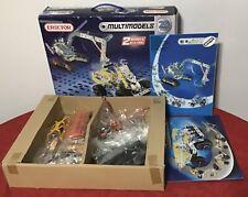 Meccano Erector Multimodels Builds 25 Models Real Metal 510 parts Toys R Us ~Box