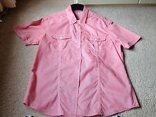 MENS BURTON CASUAL R/W CHECKED SHORT SLEEVE SHIRT SIZE L IN FANTASTIC CONDITION
