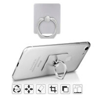 Cell Phone Ring Holder Stand f/ iPhone X 8 8+ 7+ 7 Smartphone iPad Tablet-Silver