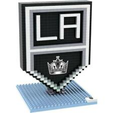 Los Angeles Kings BRXLZ Team Logo 3-D Puzzle Construction Toy New - 527 Pieces