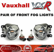 VAUXHALL VXR PAIR FRONT FOG LIGHTS ASTRA H CORSA D VECTRA C ZAFIRA B OPC