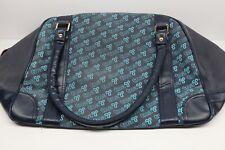 New listing Aritzia Tna Bag Duffle Over Night Gym Blue Pockets Zippers Storage