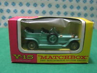 Vintage -  ROLLS ROYCE Silver Ghost   -    Matchbox  N° Y-15    Mint box