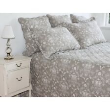 Brand new king size cotton bedspread 3 pcs set 265x285cm bedding coverlet