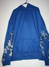 Blue Camo Style Pullover Hoodie 4XL - by Badger Sport