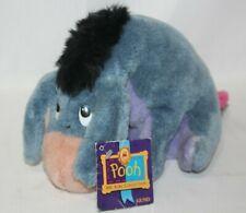 Vintage GUND Disney Pooh 100 Acre Collection Eeyore Stuffed Animal Hanging Tag