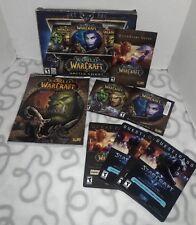 World of  War Craft Battle Chest Game-2 DVDs 2004-2011 Blizzard Ent Windows/Mac