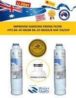 2 x Generic Samsung DA29-00020B Water Filter SRF679SWLS SRF680CDLS SRF719DLS