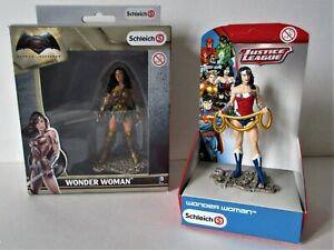 "LOT 2 Figurines Schleich -"" WONDER WOMAN "" - NEUF en Boite"