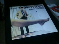 The Graduate LP Movie Soundtrack Vinyl Stereo OS-3180 VG Simon &  Garfunkel