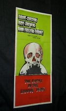 Original CASTLE OF THE LIVING DEAD Australian South Pacific Style Daybill L@@K!!
