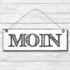 MOIN Dekoschild Holz Wand Tür Schild Shabby Chic Geschenk Vintage Landhaus
