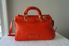 AUTH Marc by Marc Jacobs Purse Too Hot to Handle Small Shoulder Satchel Tote Bag