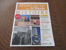 reviser son bac avec le monde histoire terminale L, ES