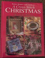 Cross Stitch Christmas Book Heartfelt Holiday 4 Different Stocking Patterns Xmas