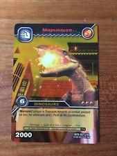 Carte Dinosaur King Mapusaure Gold Rare DKTB 002/100