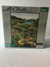 "FRUM BUFFALO GAMES & ART POULIN, A 1000pc PUZZLE. ""TO THE BARNS"""