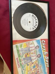 """CHAS AND DAVE.  MARGATE. 7"""" single"""