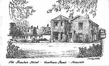 BR70145 the beaches hotel norwich  carlham road postcard  uk