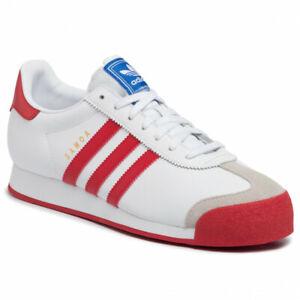 adidas Originals Men's Samoa Shoes EG3001 White Red