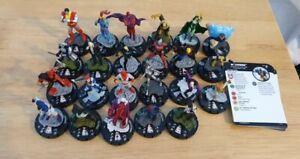 Marvel Heroclix X-Men Rise And Fall Common & Uncommon 23 Figures Bundle