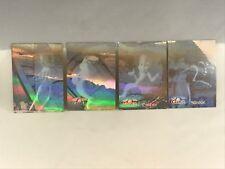 CASPER THE FRIENDLY GHOST Fleer Ultra 1995 Complete HOLOGRAM CHASE CARD SET (4)