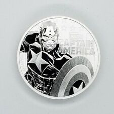 2019 CAPTAIN AMERICA SHIELD PROOF 10g GRAM Ag SILVER COIN  IN-STOCK 777