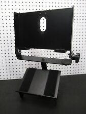 Gamber-Johnson Standard Upper Pole with 911 Monitor Mount and Keyboard Shelf