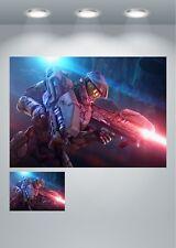 Master Chief Spartan Gaming Large Poster Art Print