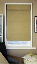 "Chicology Cordless Mag Roman Shade Antique Gold 31""x 64"". New"