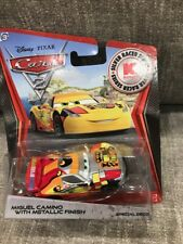 Mattel Disney Pixar Cars 2 - Miguel Camino with Metallic Finish - K-Mart Series