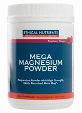 Ethical Nutrients Mega Magnesium Powder (Raspberry) 450g