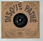 78T 21cm SAPHIR VAGUET Disque Phonographe ETOILE D'AMOUR Chanté PATHE 4928 RARE