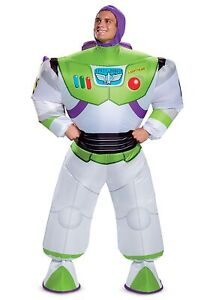 Toy Story Buzz Lightyear Adult Inflatable Costume