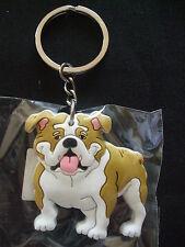 Porte-clés humoristique - chien  BOULEDOGUE ANGLAIS