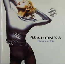 Madonna, Rescue Me, NEW/MINT Original UK 12 inch vinyl single WITH POSTER