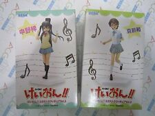 K-On! Azusa Nakano & Nodoka Manabe EX Extra Figure Vol. 3 Set of 2 SEGA Japan