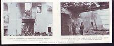 1912  --  UN CINEMA INCENDIE A VILLA REAL  ESPAGNE   Y529