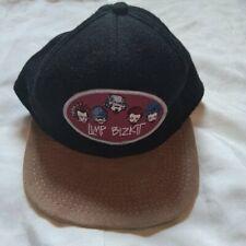 Vintage Limp Bizkit Logo Embroidered Fitted Hat