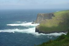 """Cliffs of Moher Canvas Print  1 of 4 18"""" Authenticated- unframed"""