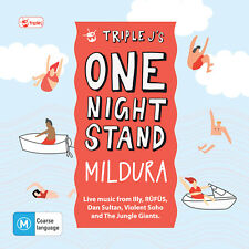 Various - Triple J's One Night Stand Mildura CD/DVD ABC Music 2014 NEW/SEALED