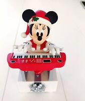 Hallmark Christmas 2013 Disney Minnie Mouse Keyboard Wireless Band Music Motion