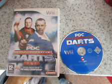 NINTENDO Wii GAME PDC WORLD CHAMPIONSHIP DARTS 2008 LOT 2
